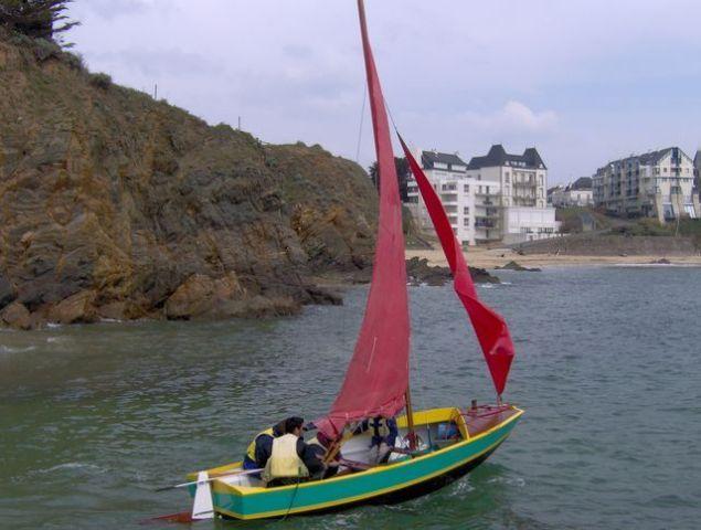 Ecole de voile au Pouldu Clohars Carnoët en Finistère  Bretagne sud