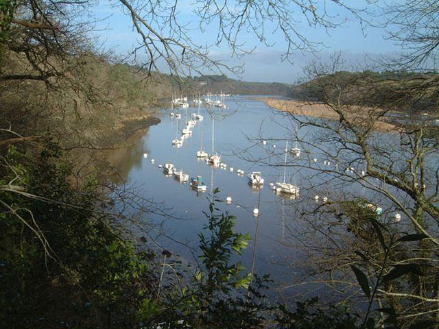 Bord de la Laïta clohars carnoet  Bretagne sud