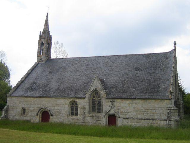 Une des 7 chapelles de Clohars carnoet  bretagne sud